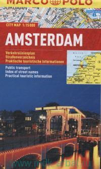 Amsterdam : City map : М 1:15 000