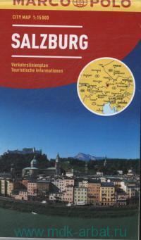 Salzburg : City Map : М 1:15 000