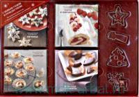 С Новым Годом и Рождеством! : 90 чудесных рецептов : Печенье. Торты и пирожные. Закуски. Шоколад и конфеты : комплект в 4 кн.