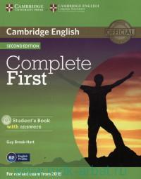 Cambridge English : Complete First : Student's Book with Answers : For Revised Exam from 2015
