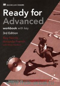 Ready for Advanced : Workbook : with key : Updated in Line with Cambridge English : Advanced (CAE) 2015 revisions