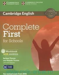 Cambridge English : Complete First for Schools : English profile B2 : Workbook with Answers : for Revised Exam From 2015