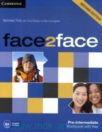 Face2Face : Pre-Intermediate B1: Workbook with Key