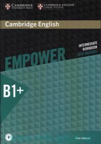 Cambridge English Empower : Intermediate Workbook. B1+ : Without Answers : With Online Audio