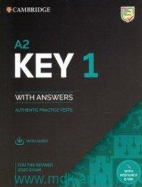 Key 1 : Authentic Practice Tests : With Answers : For the Revised 2020 Exam : A2 With Resource Bank