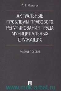 Актуальные проблемы правового регулирования труда муниципальных служащих : учебное пособие