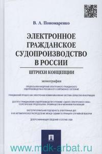 Электронное гражданское судопроизводство в России : штрихи концепции : монография