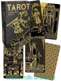 Таро Золото на Черном : проникновение в суть Арканов Мэри К. Грир : 78 карт с инструкцией : SP12