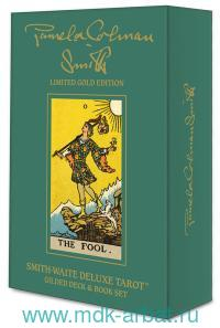 Smith-Waite Limited Gold Edition. Smith-Waite Deluxe Tarot : Gilded Deck & Book Set : SWGE78