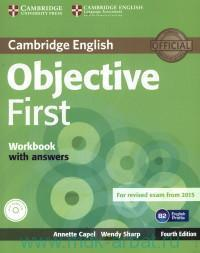 Cambridge English : Objective First : Workbook with answers : B2 English Profile : for Revised Exam From 2015