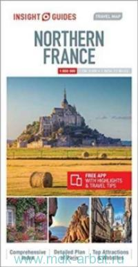 Northern France : Travel Map : M 1:800 000