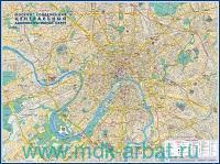 Москва современная. Центральный административный округ : М 1:10 000 : артикул КН02