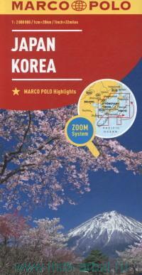 Japan, Korea : M 1:2 000 000 : Maps