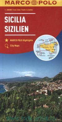 Sicilia = Sicily = Sizilien = Sicile : М 1:200 000