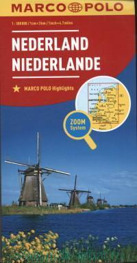 Nederland = Niederlande : M 1 : 300 000