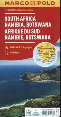 South Africa : Namibia, Botswana = Sudafrika : Namibia, Botswana : M 1 : 2 000 000