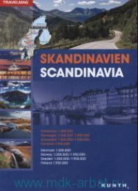 Skandinavien = Scandinavia : M 1:300000