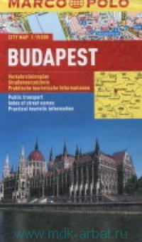 Budapest : City Map : М 1:15 000