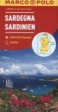 Sardegna = Sardinien : М 1 : 200 000