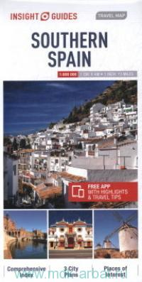 Southern Spain : Travel Map : М 1:800 000