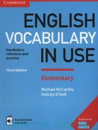 English Vocabulary in USE : Elementary : Vocabulary Reference and Practice With Answers and ebook