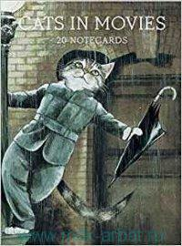 Cats in Movies : 20 Notecards