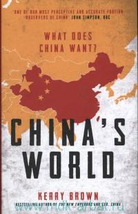 China's World : What Does China Want?