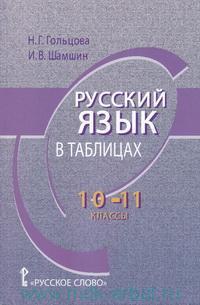 Русский язык в таблицах : 10-11-й классы : соответствует ФГОС
