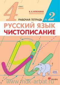 Русский язык : Чистописание : 4-й класс : рабочая тетрадь №2 (ФГОС)