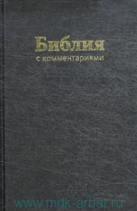 Библия : Книги Священного Писания Ветхого и Нового Завета : В Синодальном переводе с комментариями и приложениями
