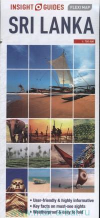 Sri Lanka : Flexi Map : М 1: 750 000