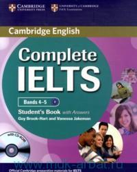 Cambridge English : Complete IELTS : Bands 4-5 : B1 : Student's Book with Answers