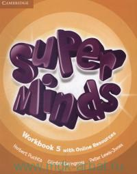 Super Minds 5 : Workbook with Online Resources